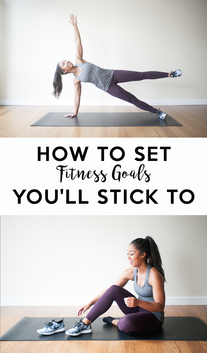 Have you ever had good intentions of improving your sense of wellness, only to find yourself throwing in the towel? This year, you'll crush your goals with this tips showing you how to set fitness goals that stick.